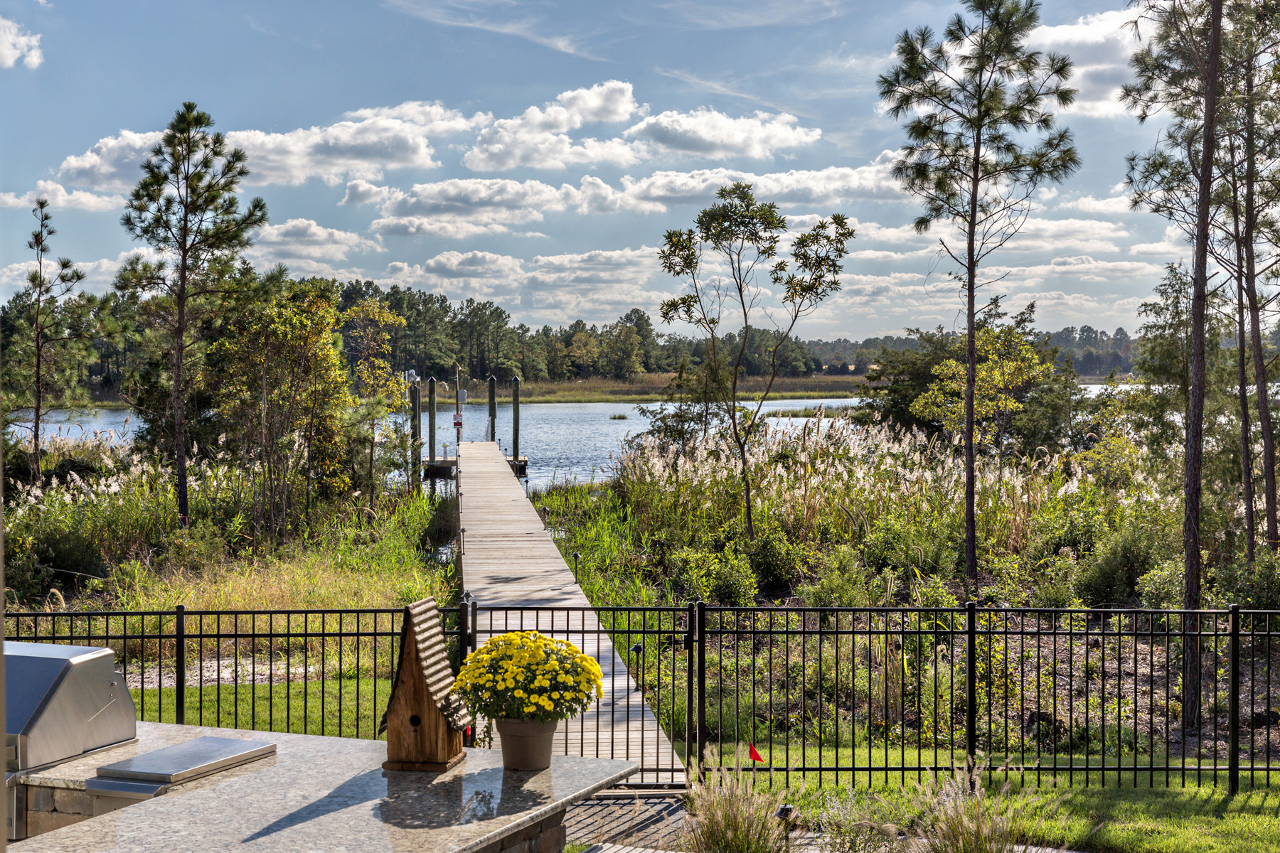 waterfront homesites