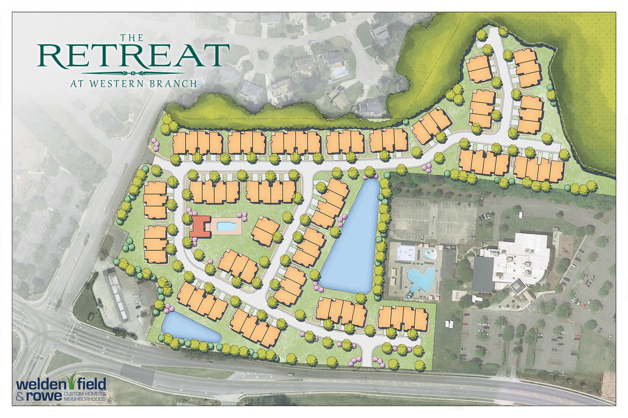 The Retreat at Western Branch Site plan